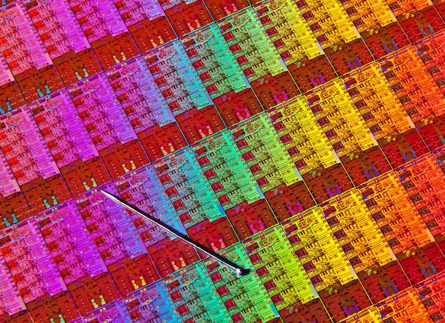 Oblea de los nuevos procesadores Intel Hashwell