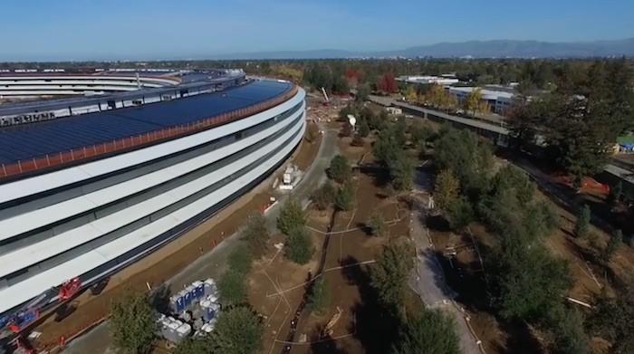 Apple Campus 2 ya se muestra casi finalizado y listo para abrir sus puertas