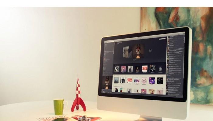 Spotify en Mac