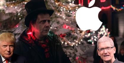 apple navidad donald frankenstein