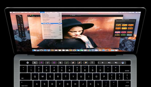 La Touch Bar, ¿el futuro de los MacBook?