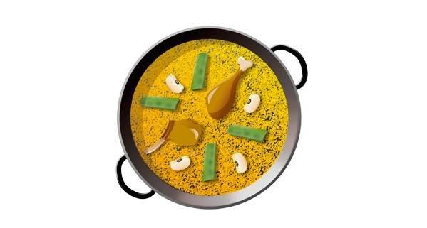 Emoji de la paella valenciana auténtica
