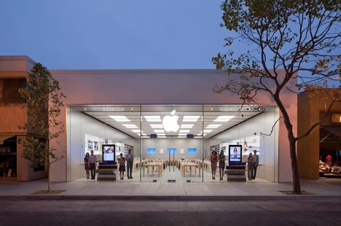 Roban un Apple Store en segundos