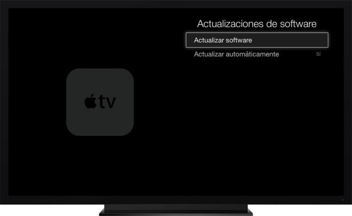 Actualización Apple TV 3
