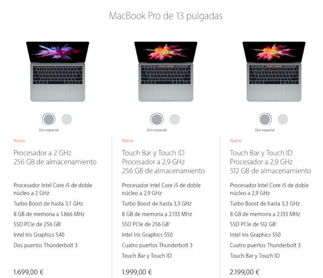 MBP13-precios-iOSMac