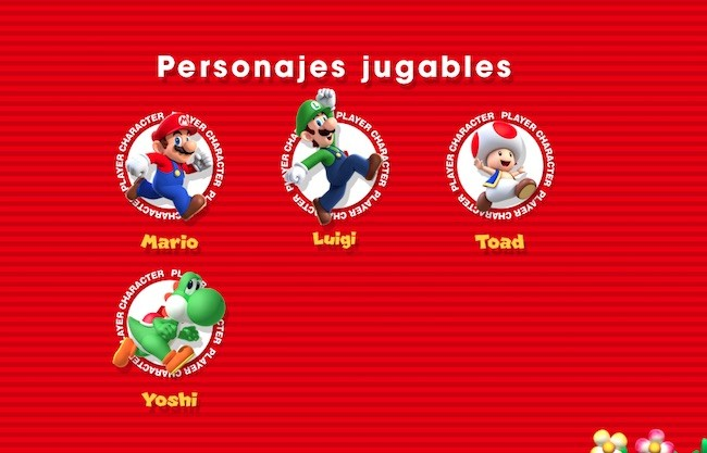 Super Mario Run - personajes