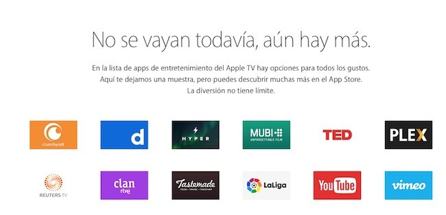 apple tv 4 apps