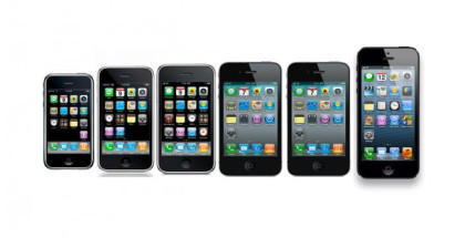 evolucion iPhone