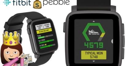 fitbit pebble compra apple watch wearables