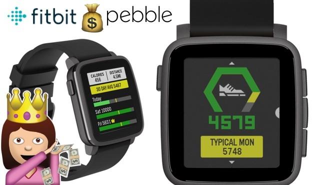 Fitbit compra a Pebble para dominar el mercado de wearables