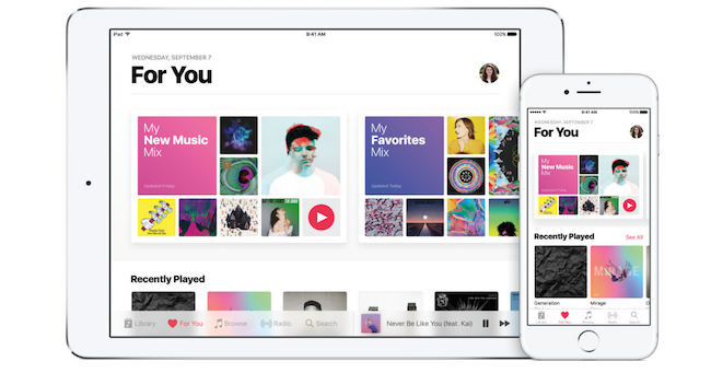 iPad App - Apple music