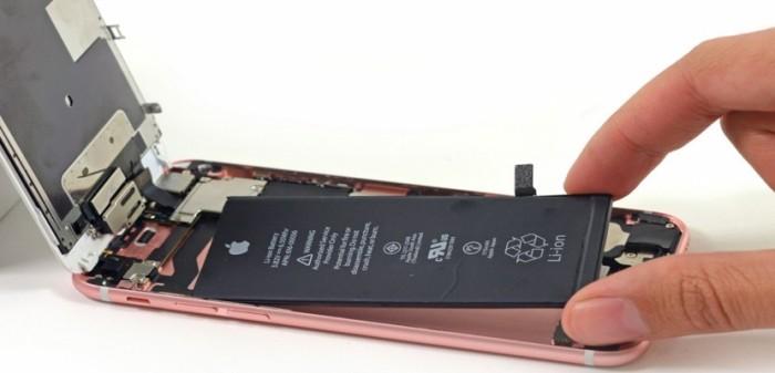 Funcionamiento del iPhone 6s con el cambio de la batería