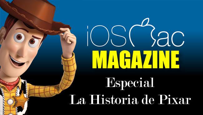 iOSMac Magazine 7: Especial con la historia de Pixar