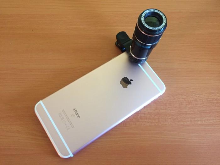 Lente móvil de telescopio con zoom óptico 12X Universal [Review]