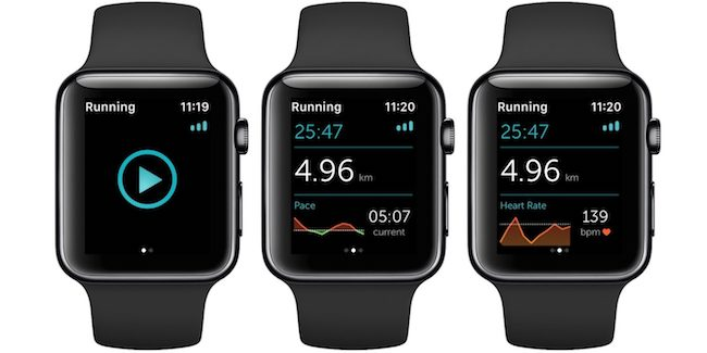 Runkeeper ya permite usar el GPS del Apple Watch Series 2