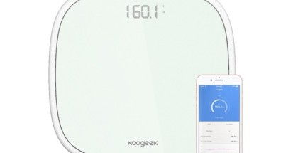 Bascula Digital Bluetooth 4.0 de Koogeek