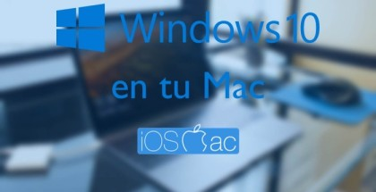 Windows 10 en tu Mac