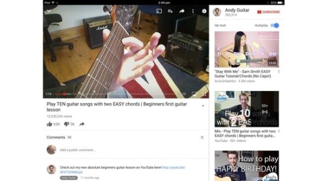 aprende guitarra con el ipad 3