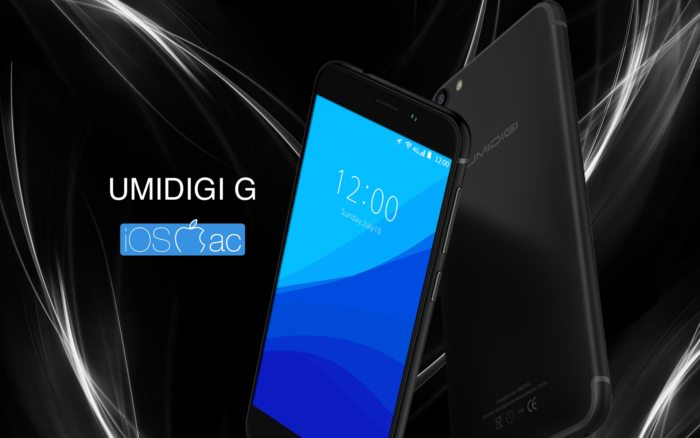 UMIDIGI G – Clon iPhone 7