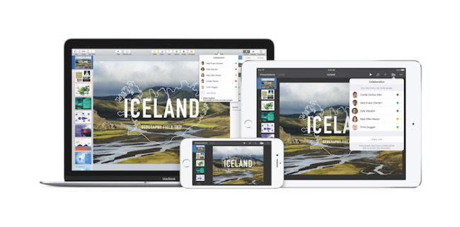 Keynote iOS macOS