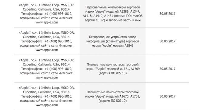 Apple iPad MacBook WWDC 2017 Europa CEE