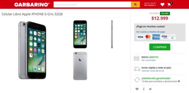 iPhone 6 - Argentina