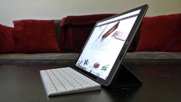 Teclado en iPad