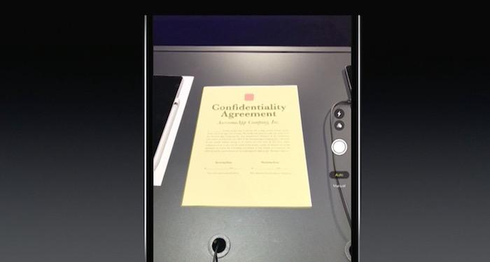 iOS 11 Escaner