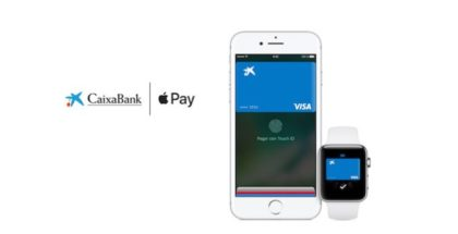 Apple Pay compatible CaixaBank