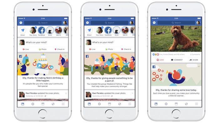 Facebook celebra sus 2 mil millones de usuarios y lanza nuevas funciones en Messenger