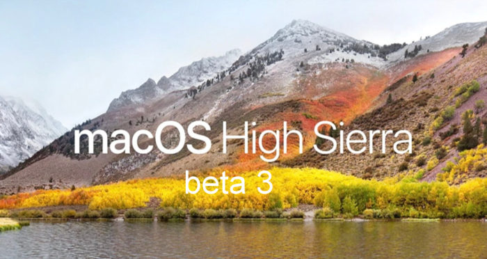 MacOS-High-Sierra-beta 3