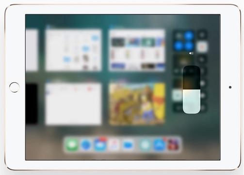 Centro de Control sin 3D Touch en iOS 11