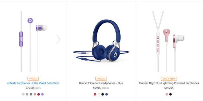 Productos Beats en oferta
