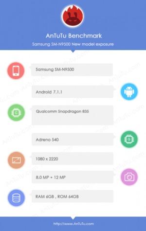 Rendimiento Galaxy Note 8