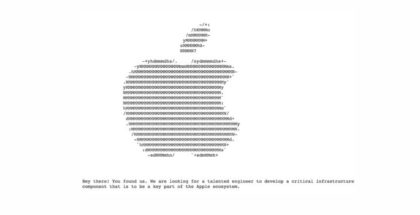Apple tiene una web escondida