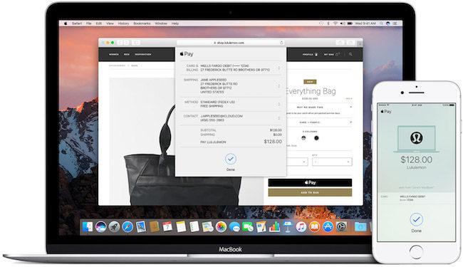 servicio de pago Apple Pay