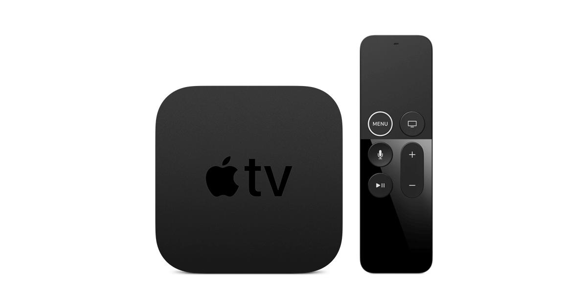 Apple TV 4K con el nuevo Siri Remote