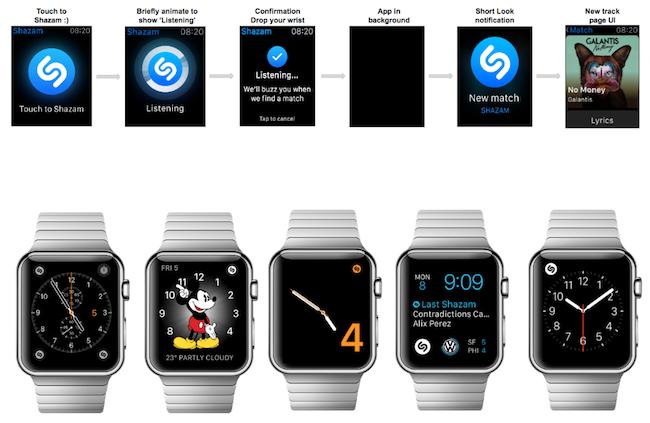 La aplicación Shazam para el Apple Watch ha sido mejorada