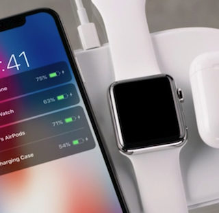 AirPower, la base de carga inalámbrica de Apple, llegará en marzo