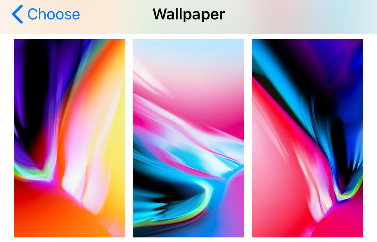 Nuevos wallpapers iOS 11.2