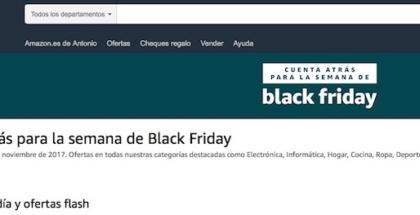 Black Friday 2017 llega a Amazon.es el 27 de noviembre