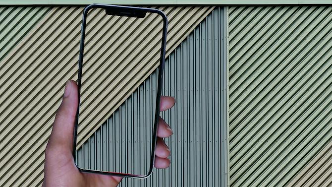 Paredes coloridas como fondo de pantalla del iPhone