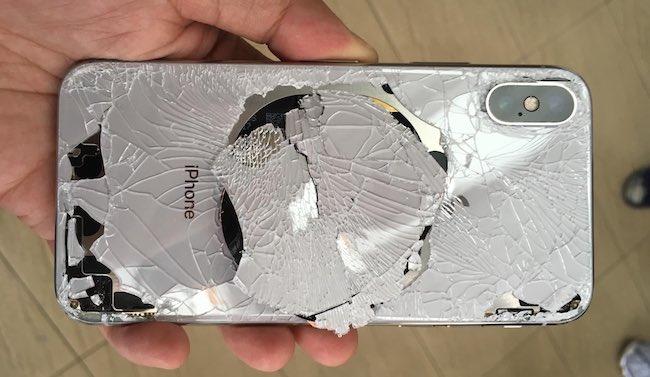 iPhone X: el vidrio trasero no se puede reparar sin reemplazar el ...