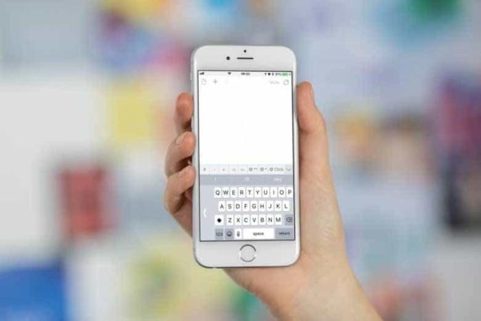 Surge un nuevo error en la auto corrección del teclado de iPhone y iPad