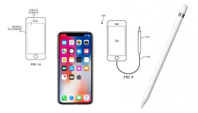 Apple continúa registrando patentes sobre la utilización del Apple Pencil en el iPhone