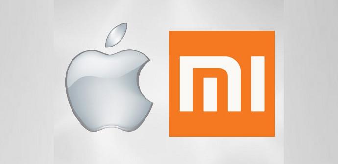 Apple gana contra Xiaomi