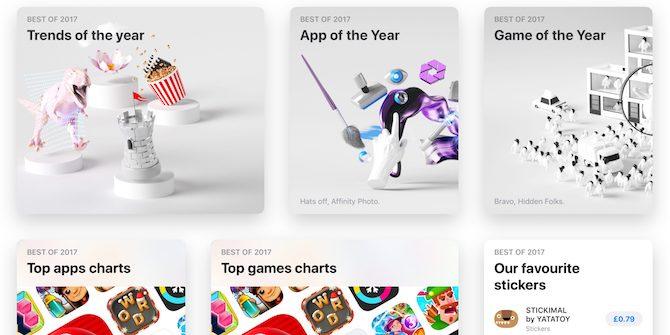 Apple anuncia la selección Best of 2017 en la AppStore