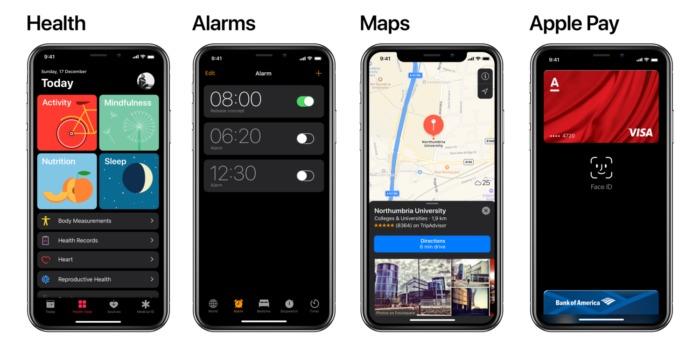 Apps Nativas con el nuevo concepto del modo oscuro