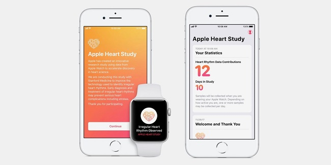 Apple actualiza las apps Heart Study y Beddit Sleep Monitor