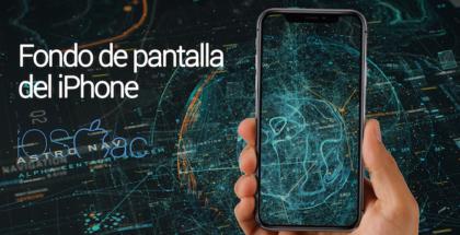 fondo de pantalla del iPhone digital